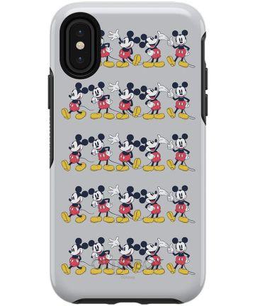 OtterBox Symmetry Case Disney iPhone X / XS Mickey Line Hoesjes