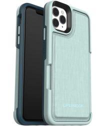LifeProof iPhone 11 Pro Max Flip Back Cover Portemonnee Hoesje Groen