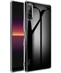 IMAK UX-5 Series Sony Xperia L4 Hoesje Flexibel en Dun TPU Transparant