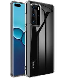 IMAK UX-5 Series Huawei P40 Hoesje Flexibel en Dun TPU Transparant