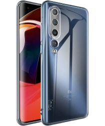 IMAK UX-5 Series Xiaomi Mi 10 Hoesje Flexibel TPU Transparant