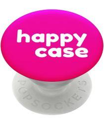 PopSockets X HappyCase PopGrip PopTop Greep en Standaard Pink