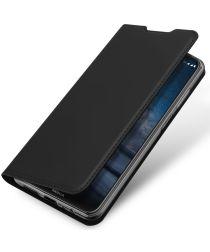 Dux Ducis Skin Pro Series Nokia 8.3 Hoesje Portemonnee Zwart