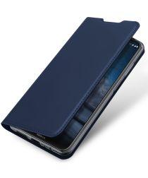 Dux Ducis Skin Pro Series Nokia 8.3 Hoesje Portemonnee Blauw