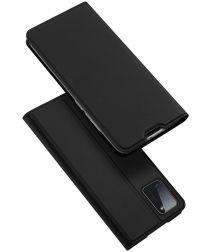 Dux Ducis Skin Pro Series Samsung Galaxy A41 Hoesje Portemonnee Zwart