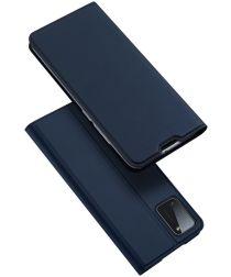 Dux Ducis Skin Pro Series Samsung Galaxy A41 Hoesje Portemonnee Blauw