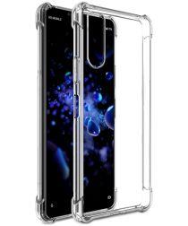 Sony Xperia L4 Hoesje Schokbestendig Transparant