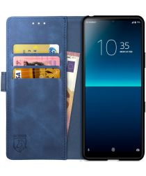 Rosso Element Sony Xperia L4 Hoesje Book Cover Blauw