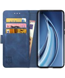 Rosso Element Xiaomi Mi 10 / Mi 10 Pro Hoesje Book Cover Blauw