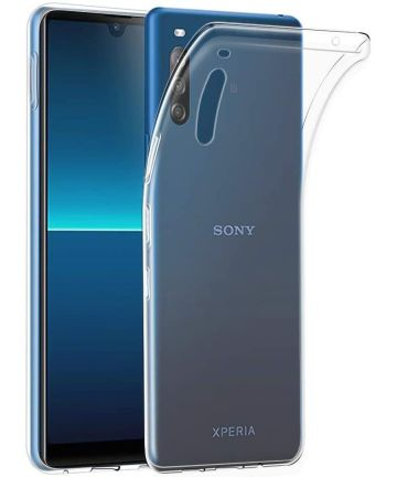 Sony Xperia L4 Hoesje Dun TPU Transparant
