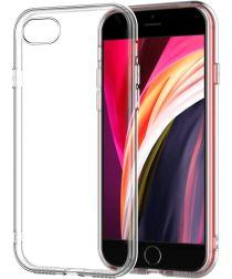 Apple iPhone SE 2020 Hoesje Dun TPU Back Cover Transparant