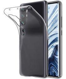 Xiaomi Mi 10 (Pro) Hoesje Dun TPU Transparant