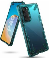 Ringke Fusion X Huawei P40 Hoesje Groen/Transparant