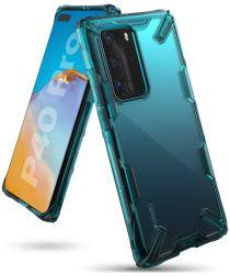 Ringke Fusion X Huawei P40 Pro Hoesje Groen/Transparant
