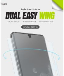 Ringke Dual Easy Wing Huawei P40 Pro Screenprotector (Duo Pack)