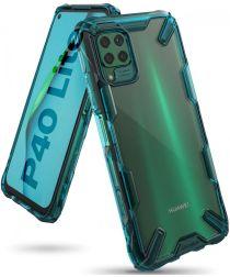 Ringke Fusion X Huawei P40 Lite Hoesje Groen/Transparant