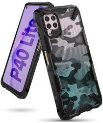 Ringke Fusion Huawei P40 Lite Hoesje Camo Zwart