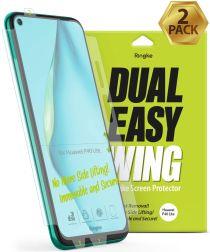 Ringke Dual Easy Wing Huawei P40 Lite Screenprotector (Duo Pack)