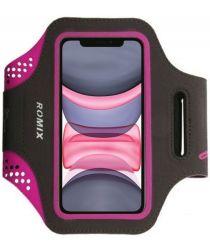 Luxe Sportarmband Universeel Hoesje voor het Hardlopen 5.5 inch Roze