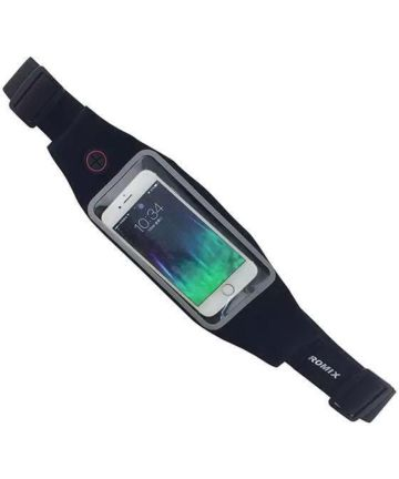 Universele Sportgordel voor je Telefoon 4.7 Inch Zwart