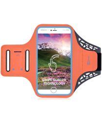 Universele Sportarmband Smartphone 5.5 Inch Oranje