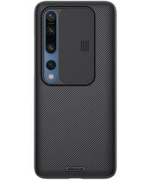 Nillkin CamShield Xiaomi Mi 10 (Pro) Hoesje met Camera Slider Zwart