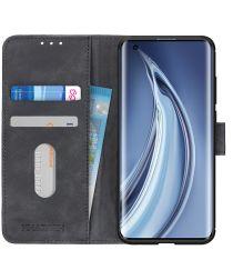 Xiaomi Mi 10 (Pro) Hoesje Vintage Wallet Zwart