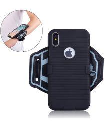 Apple iPhone XS Sportarmband Onderarm met Back Cover Smooth