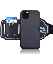 Apple iPhone 11 Pro Sportarmband Bovenarm met Back Cover Smooth