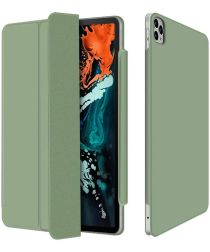 Apple iPad Pro 12.9 (2020)/(2018) Tri-fold Hoes Groen