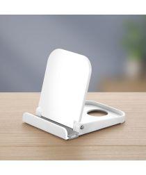 Universele Smartphone Verstelbare Houder Voor Het Bureau Wit