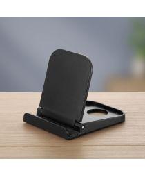 Universele Smartphone Verstelbare Houder Voor Het Bureau Zwart