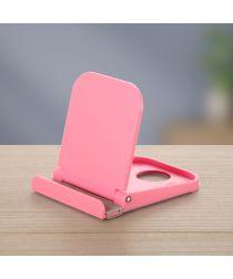 Universele Smartphone Verstelbare Houder Voor Het Bureau Roze