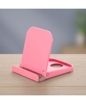 Universele Smartphone Verstelbare Houder Voor Het Bureau Roze Houders