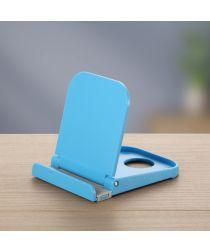 Universele Smartphone Verstelbare Houder Voor Het Bureau Blauw