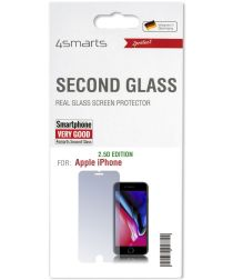 4smarts Second Glass 2.5D Apple iPhone SE (2020) Tempered Glass
