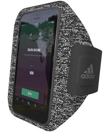 Adidas Smartphone Sport Armband voor het Hardlopen 5.5 Inch Zwart Sporthoesjes