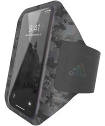 Adidas Smartphone Sport Armband voor het Hardlopen 4.7 Inch Camo Zwart