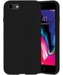 4smarts CUPERTINO Series Apple iPhone SE (2020) Hoesje Siliconen Zwart