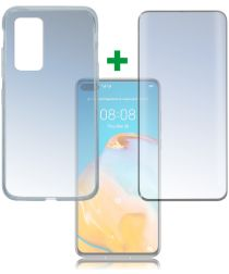 4smarts 360° Protection Set Huawei P40 Zwart
