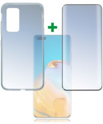 4smarts 360° Protection Set Premium for Huawei P40 Pro Zwart