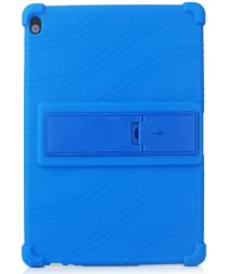 Lenovo Tab M10 (HD) Gen 1 Kinder Tablethoes Kickstand Siliconen Blauw