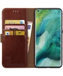 Rosso Element Oppo Find X2 Hoesje Book Cover Bruin