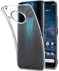 Nokia 8.3 Hoesje Dun TPU Transparant
