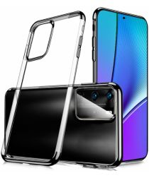 Huawei P40 Pro Hoesje Dun TPU Transparant