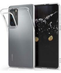 Huawei P40 Hoesje Dun TPU Transparant