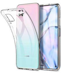 Huawei P40 Lite Hoesje Dun TPU Transparant