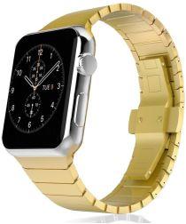 Apple Watch 40MM / 38MM Bandje Luxe Schakelband Roestvrij Staal Goud