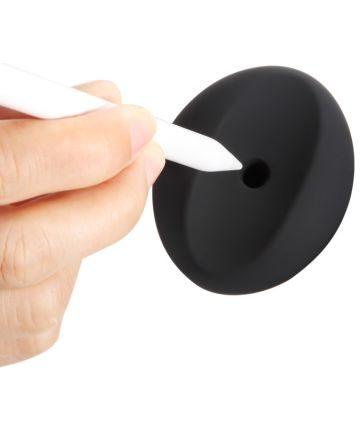 Siliconen Apple Pencil Houder Zwart Houders