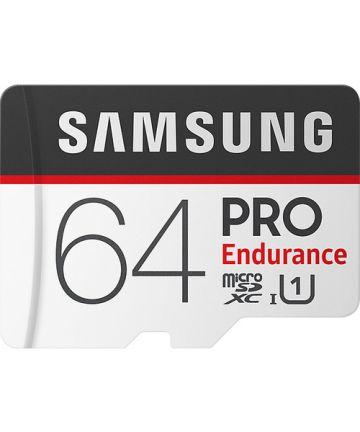Samsung PRO Endurance 64GB Micro-SD Geheugenkaart 10 UHS-I U1 Geheugenkaarten